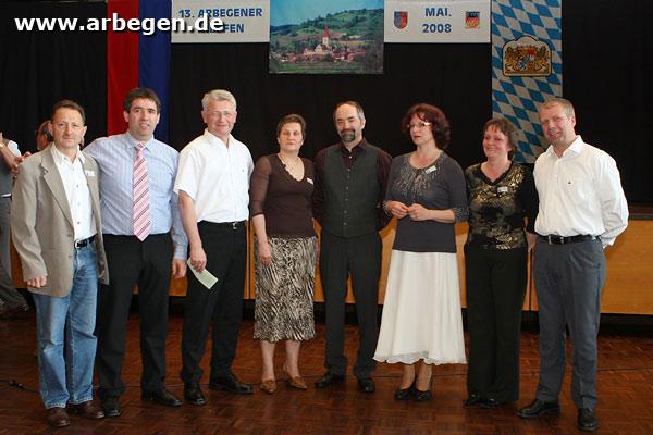 Von links: Harald Schoger ...